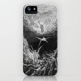 Gustave Doré's The Last Judgement iPhone Case