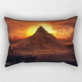 Forgotten World: Taj Mahal Rectangular Pillow
