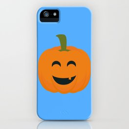 Funny Halloween pumpkin iPhone Case