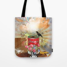 Rainbow Bird Tote Bag