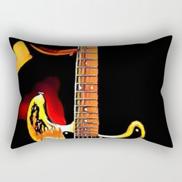 SRV - Number One - Graphic 3 Rectangular Pillow