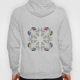 Weekend Girls Repeat Illustration Hoody