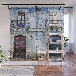 BLUE FACADE of SICILY Wall Mural