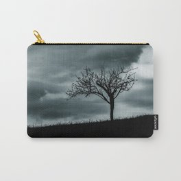 Alone tree before the storm Carry-All Pouch