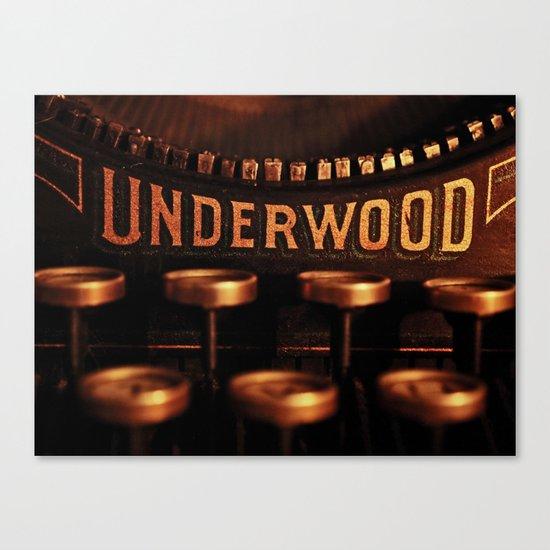 Underwood No. 5 Canvas Print