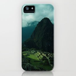 Machu Picchu NO3 iPhone Case