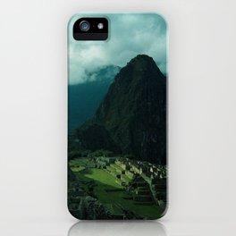 Machu Picchu NO3 iPhone Case