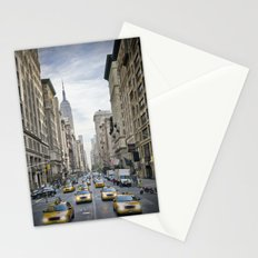 NEW YORK CITY 5th Avenue Street Scene Stationery Cards