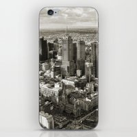 melbourne iPhone & iPod Skins featuring Melbourne City by Ewan Arnolda