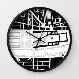 Louvre. Paris Wall Clock