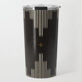 Southwestern Minimalist Black & White Travel Mug