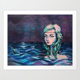 Upwelling Art Print