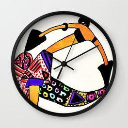 Untitled - Dancer from The Essence of the mode of the day, 1920 by Janine Aghion Wall Clock