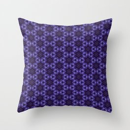 Purple Passion Pattern 12 Throw Pillow