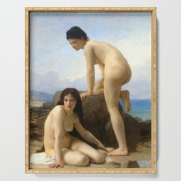 "William-Adolphe Bouguereau ""The Bathers"" Serving Tray"