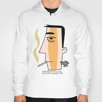 cigarettes Hoodies featuring Cigarettes by Brian Sisson