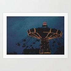 Flying Swings Art Print