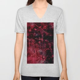 Voices Of The Night No.1h by Kathy Morton Stanion Unisex V-Neck