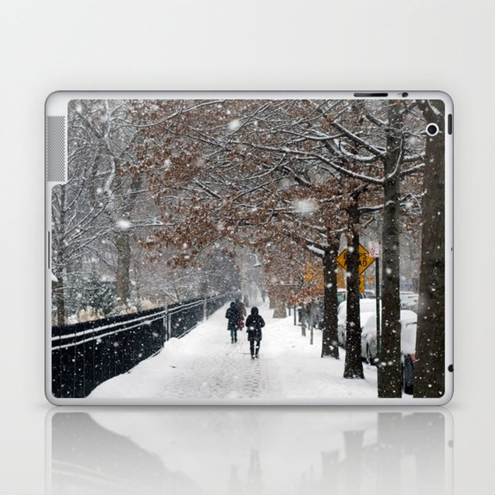 New York in Winter Laptop & iPad Skin