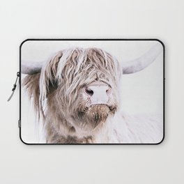 HIGHLAND CATTLE PORTRAIT Laptop Sleeve