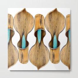 Bounding Aroids by Dustin Gimbel Metal Print