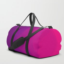 Purple and Pink Waves Duffle Bag