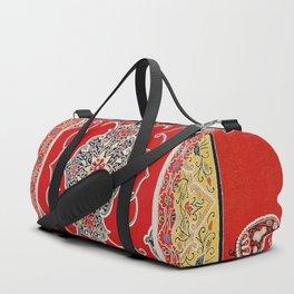 Rasht Gilan North Persian Embroidery Print Duffle Bag