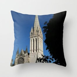 Saint Etienne Cathedral Throw Pillow