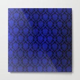 Deep Blue Design Metal Print