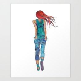 Carolijn Art Print