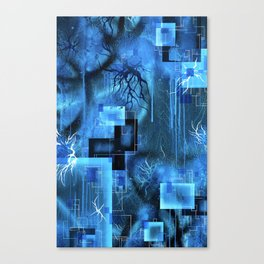 Trapped In This Space Between Here And There Canvas Print