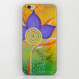 Point of bloom iPhone Skin