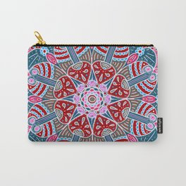 Holiday Doodles & Bits Carry-All Pouch