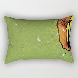 For you - green Rectangular Pillow