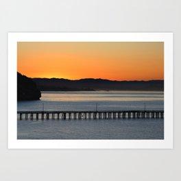 California Mornings  Art Print