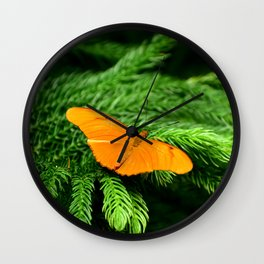 Julia Butterfly Wall Clock