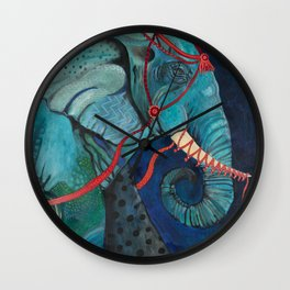 Leave The Circus Wall Clock