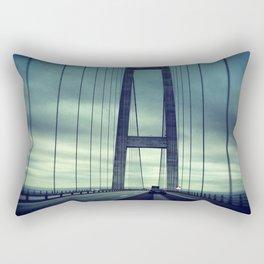 Great Belt Bridge Rectangular Pillow