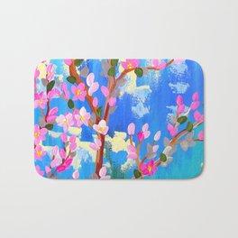 Rustic Blossom Bath Mat