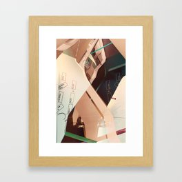 Tech Neck Framed Art Print