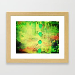 cogs Framed Art Print