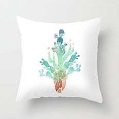 Cactus Skin Throw Pillow