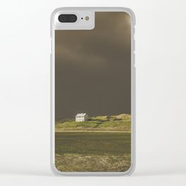 White house, Iceland Clear iPhone Case