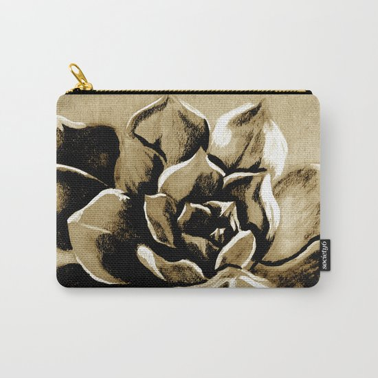 Succulent sepia Carry-All Pouch
