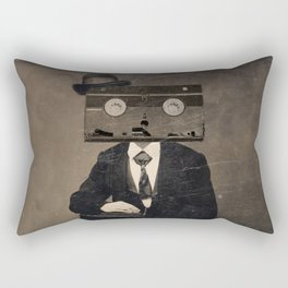 Faces of the Past: VHS Rectangular Pillow