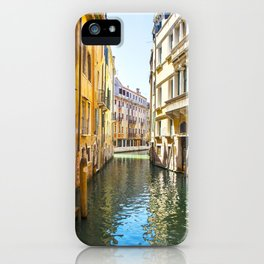 A Gondola Ride through Venice iPhone Case