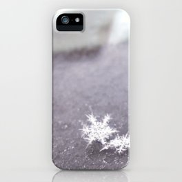 perfect snowflakes iPhone Case