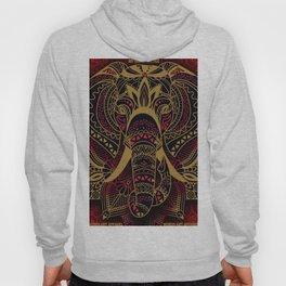 Rubino Zen Elephant Red Hoody