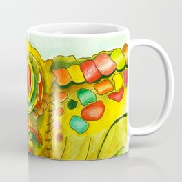 Yellow Lizzard Coffee Mug