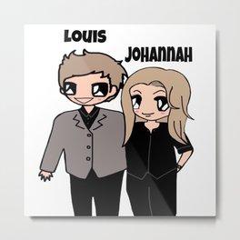 Louis and Johannah-252 Metal Print